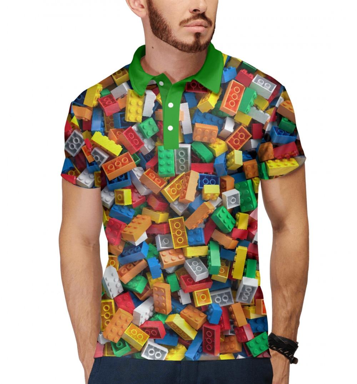 De polo de los hombres de LEGO