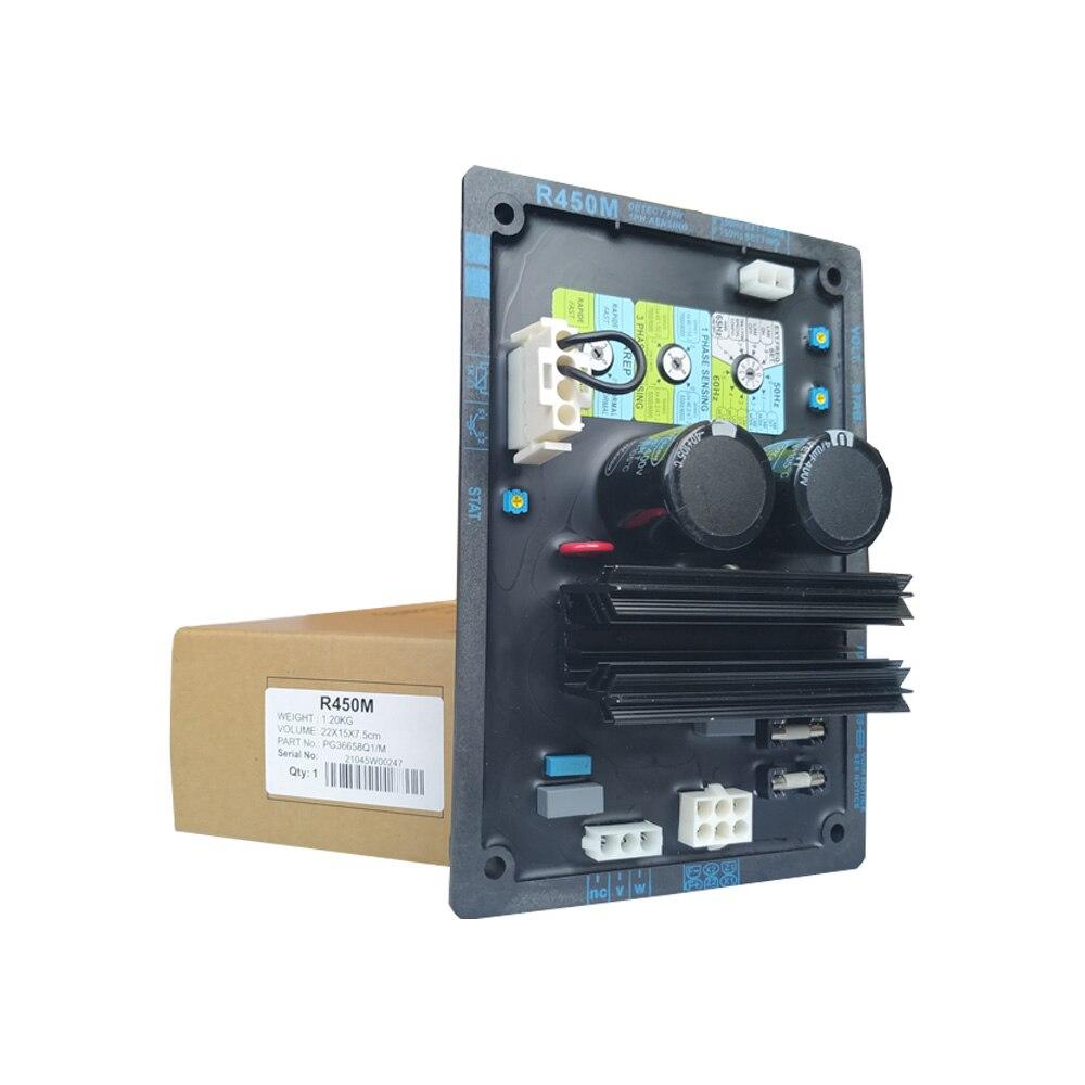 AVR 450m Producción de fábrica china R450M AVR puede utilizarse bien para generador diésel sin escobillas de tipo Leroy Somer