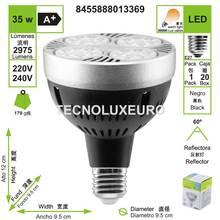 Lámpara bombilla led 35 w par30 e27 ponto 3000 k luz cálida 2975 lm 13369