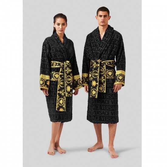Luxury Men Woman Unisex Casual Bathrobe Autumn Bamboo Long Robe Fast Drying Thick Warm Sleepwear Bathing Towel Hotel Sauna