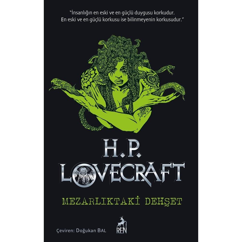 ¡Mezarlıktaki Dread-H.P! Lovecraft Ren libro