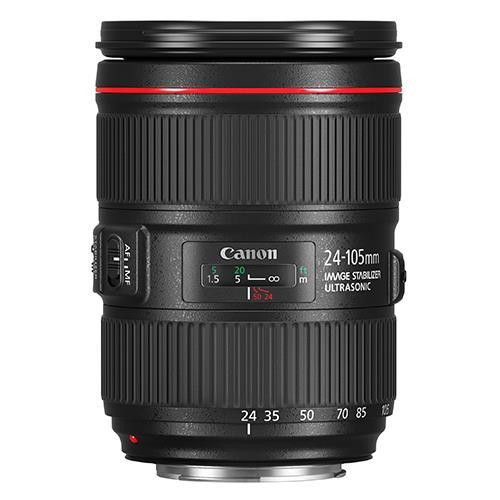 Canon EF 24-105mm f/4L הוא II USM עדשה (קופסא לבנה)