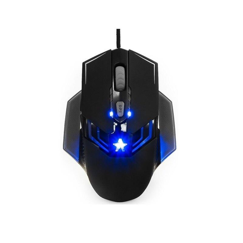 """Ratón con cable гарнизон gm-750g """"Altair 2"""" (USB juego código """"survarium"""" chip x3 de contacto 2400 dpi 5 kn + rueda"""