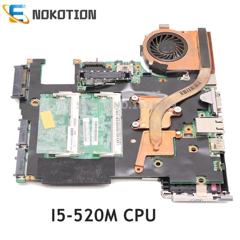 NOKOTION para Lenovo X201I placa base de computadora portátil I5-520M CPU FRU 63Y2062 08270-3 48.4CV13.031 placa principal