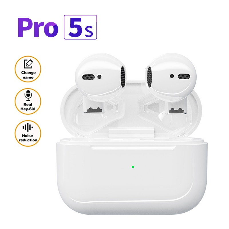 Mini Pro 5s TWS Earphones Bluetooth 5.0 Touch Control Wireless Headphones Stereo Sports Earbuds Gaming Headset For Xiaomi iPhone