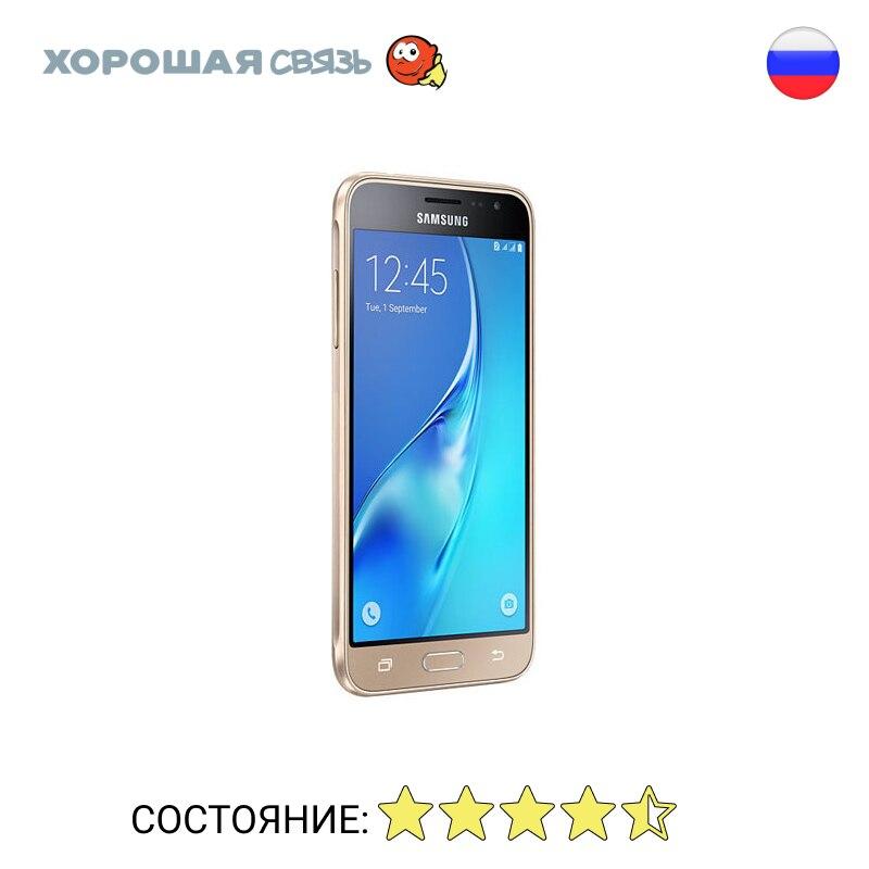 Telefone Samsung j320f/DS Galaxy J3 (2016) 8 GB, уцененный, b/y, em excelente estado