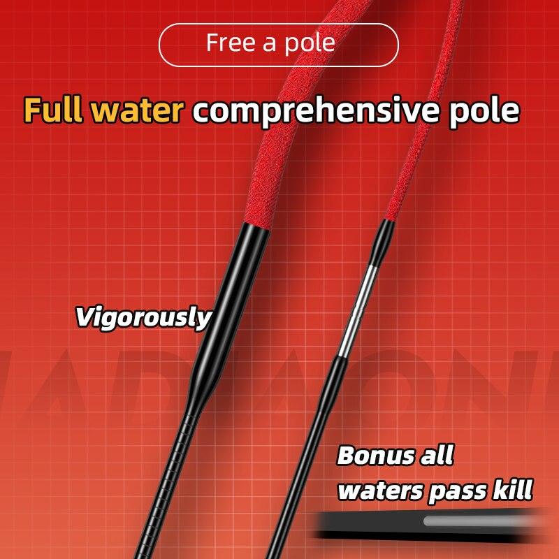 JIADIAONI 2021 New Super Light FUMOLIANJI Fishing Rod 6H Super Hard All-around 5.4/6.3/7.2/7.5/8.1/9M Freshwater Silver Carp Rod enlarge