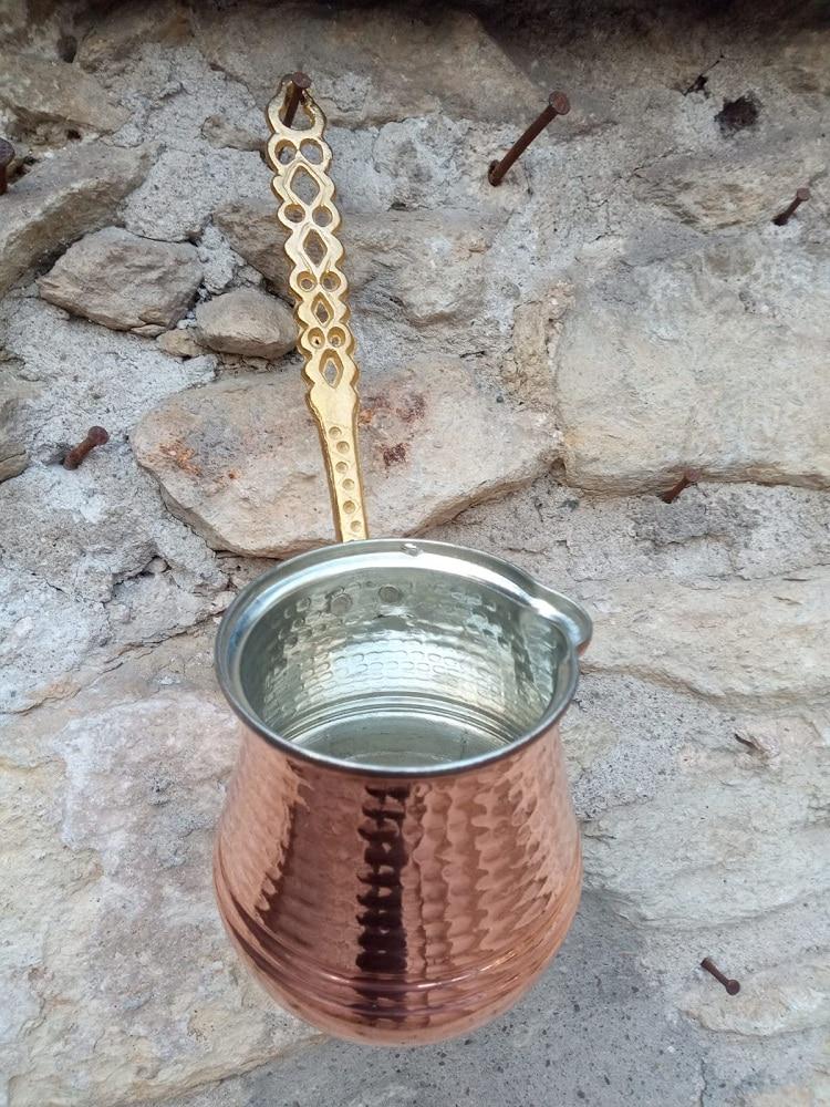 Coffee pot handmade Anatolian Turkish coffee pot, real copper, High Quality Coffee Pot Espresso pot, 320 ml недорого