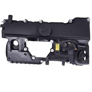 11128645888 Engine Cylinder Head Top Cable Rocker Valve Cover For BMW X1 X3 Z4 E81 E83 E84 E87 E88 E90 E91