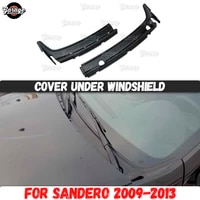 cover under windshield for renault sandero stepway 2009 2013 jabot abs plastic accessories protective car styling tuning