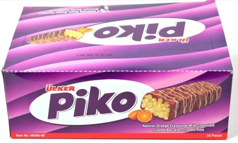 Ülker Piko Rice Crisps delicious yummy chocolate
