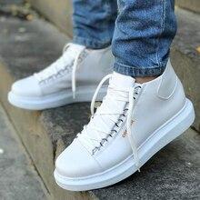 Chekich Sneakers For Men Sneakers Comfortable Flexible Fashion Leather Wedding Orthopedic Walking Sh
