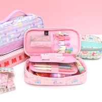 pencil cases for girls kawaii unicorn stationery for school 2021 portable large school cases pencil box office supplies cute