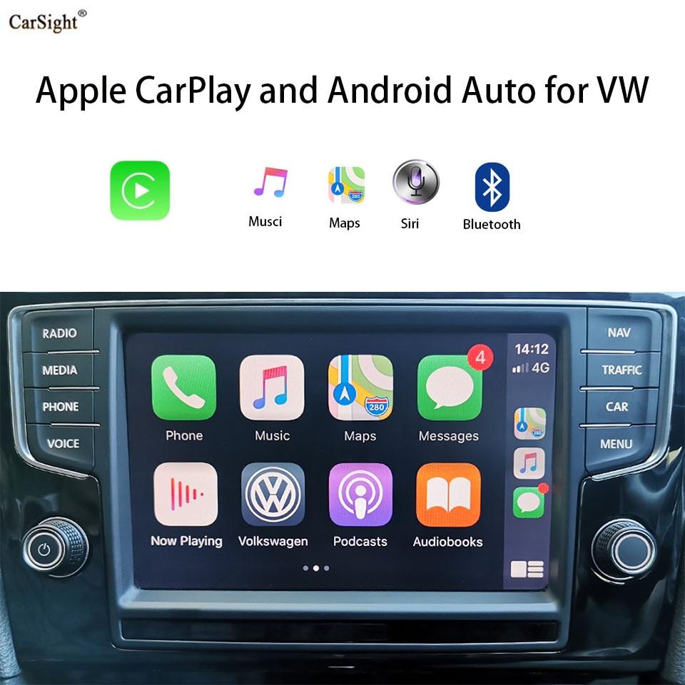 ترقية لسيارتك اللاسلكية أبل CarPlay وتكامل أندرويد السيارات الهاتف الذكي لشركة فولكس فاجن MIB II اكتشاف برو من المصنع