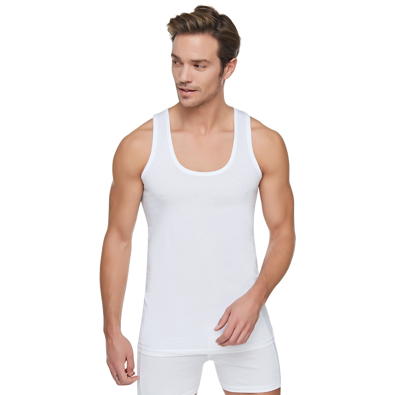 100% COTTON COMBED TOP QUALITY MEN'S ATHLETE 6-PACK