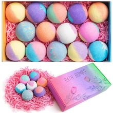 Bytedance The same Type Of Explosive Salt Bath Ball Essential Oil Beauty Bubble Beauty Explosion Bal