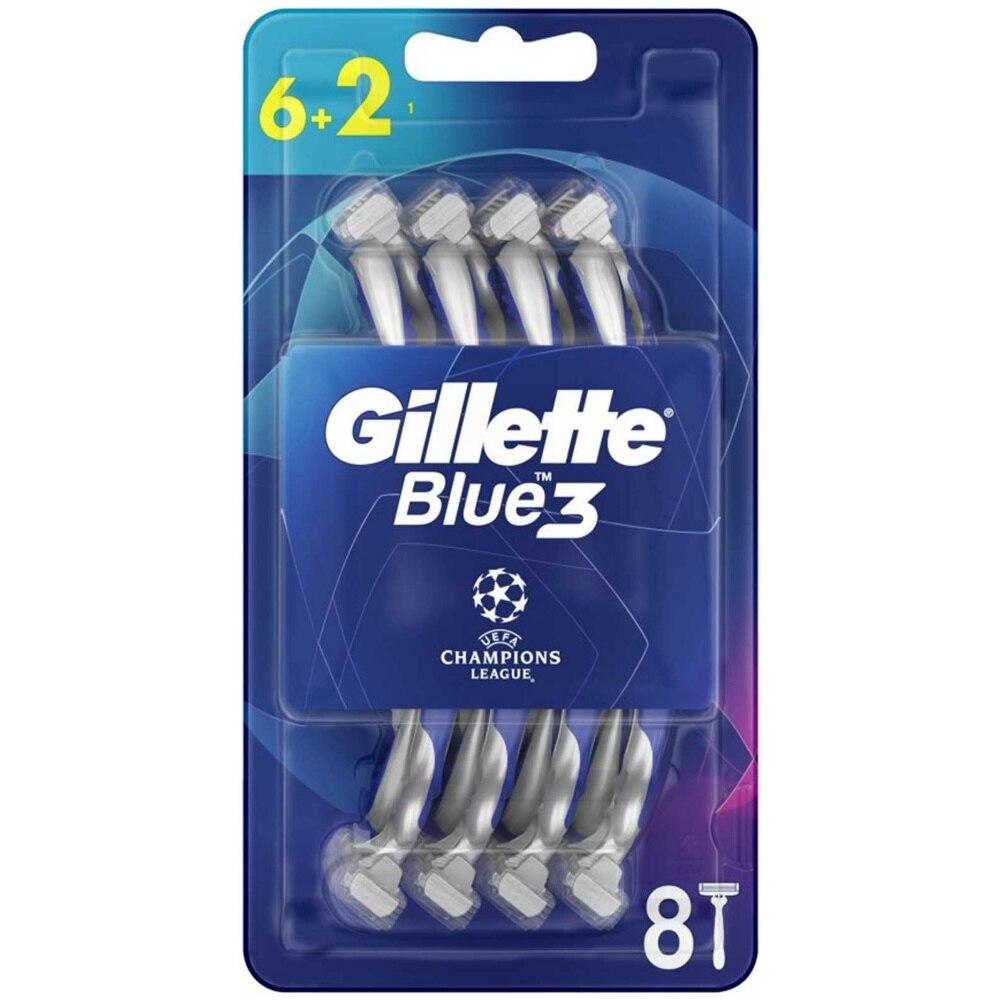 Blue3 دوري أبطال أوروبا المتاح الحلاقة-8 قطعة في 1 حزمة