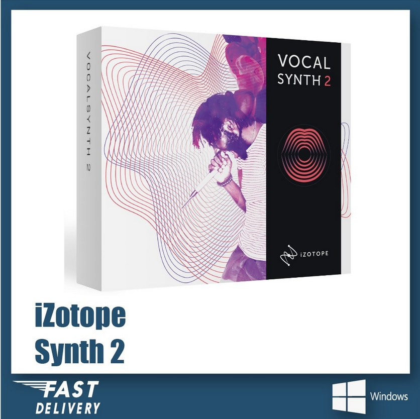 iZotope - VocalSynth 2 [Win x86 x64]