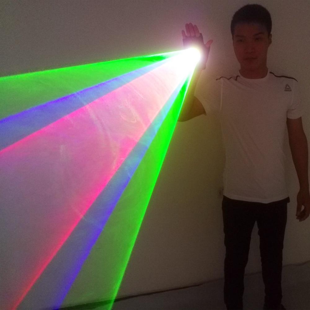 RGB Laser Whirlwind Multicolour Laser Vortex  Laser Man stage supplies LED Laser Gloves Nightclub Performances
