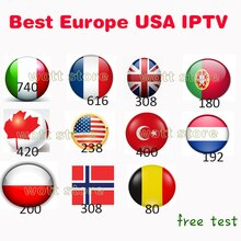Europe IPTV italien polonais belgique turc canada portugal royaume-uni M3U hot club aucune application incluse