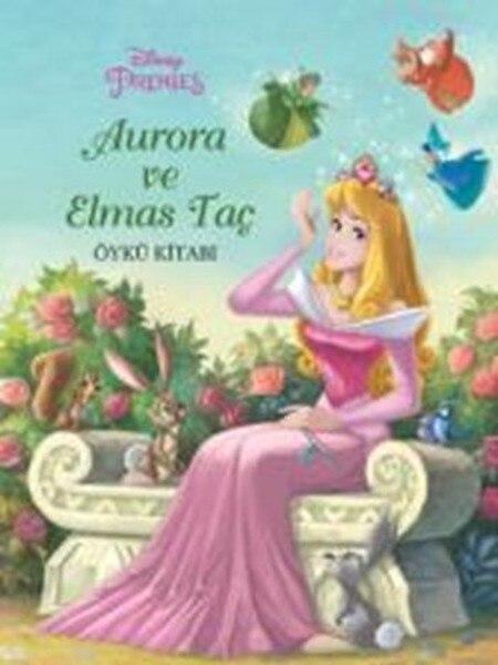 Disney Princess Aurora and Diamond Crown Story Book Collective Born and Egmont Publishing Children Books Series