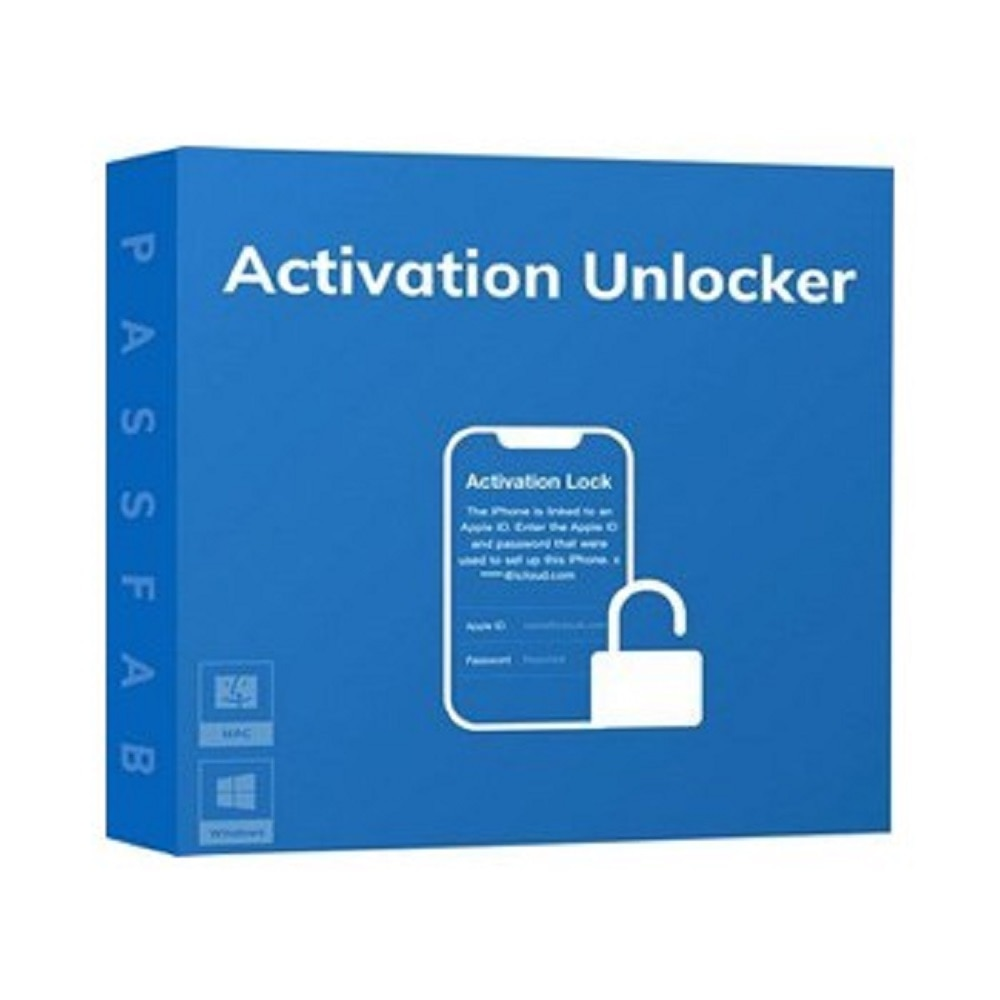 PassFab Activation Unlocker (Remove activation lock without Apple ID on iPhone)(100% Premium Windows Software)