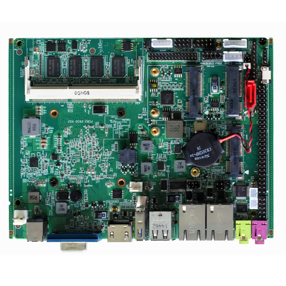industrial motherboard with intel  celeron j1900 CPU 4G ram Support RS232 RS485 mainboard