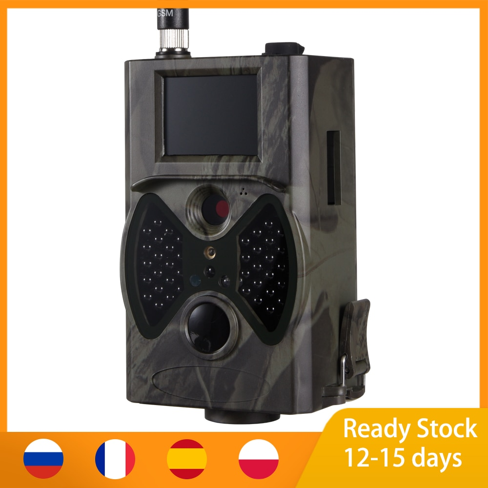 купить HC-300M 16MP 940nm Night Vision Hunting Camera MMS Camera Trap Trail Camera MMS GSM GPRS 2G Photo Traps Wild Cameras в интернет-магазине