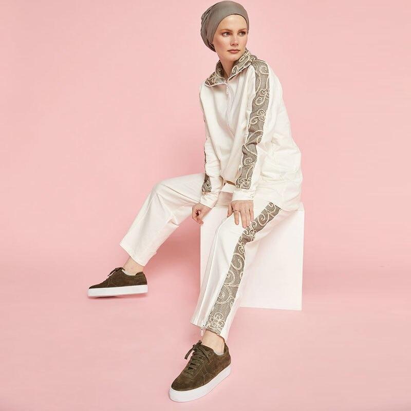 Мусульманское платье, женская скромная одежда, хиджаб, спортивная одежда, искусственная Женская, повседневная, Исламская одежда, Сделано в ...