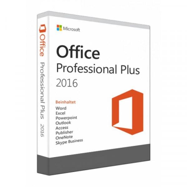 Microsoft Office 2016 Pro plus key - электронный ключ