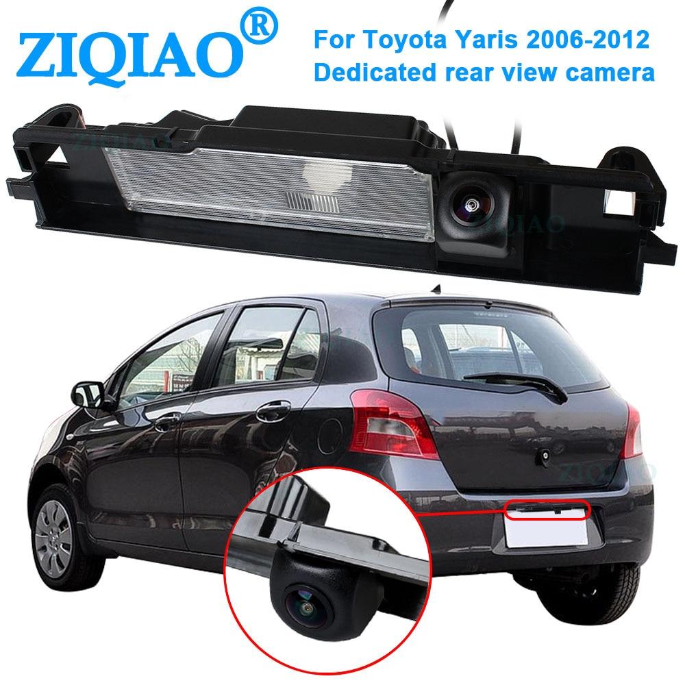 ZIQIAO-كاميرا الرؤية الخلفية للرؤية الليلية عالية الدقة ، لتويوتا يارس 2006 ، 2007 ، 2008 ، 2009 ، 2010 ، 2011 ، 2012 ، HS003