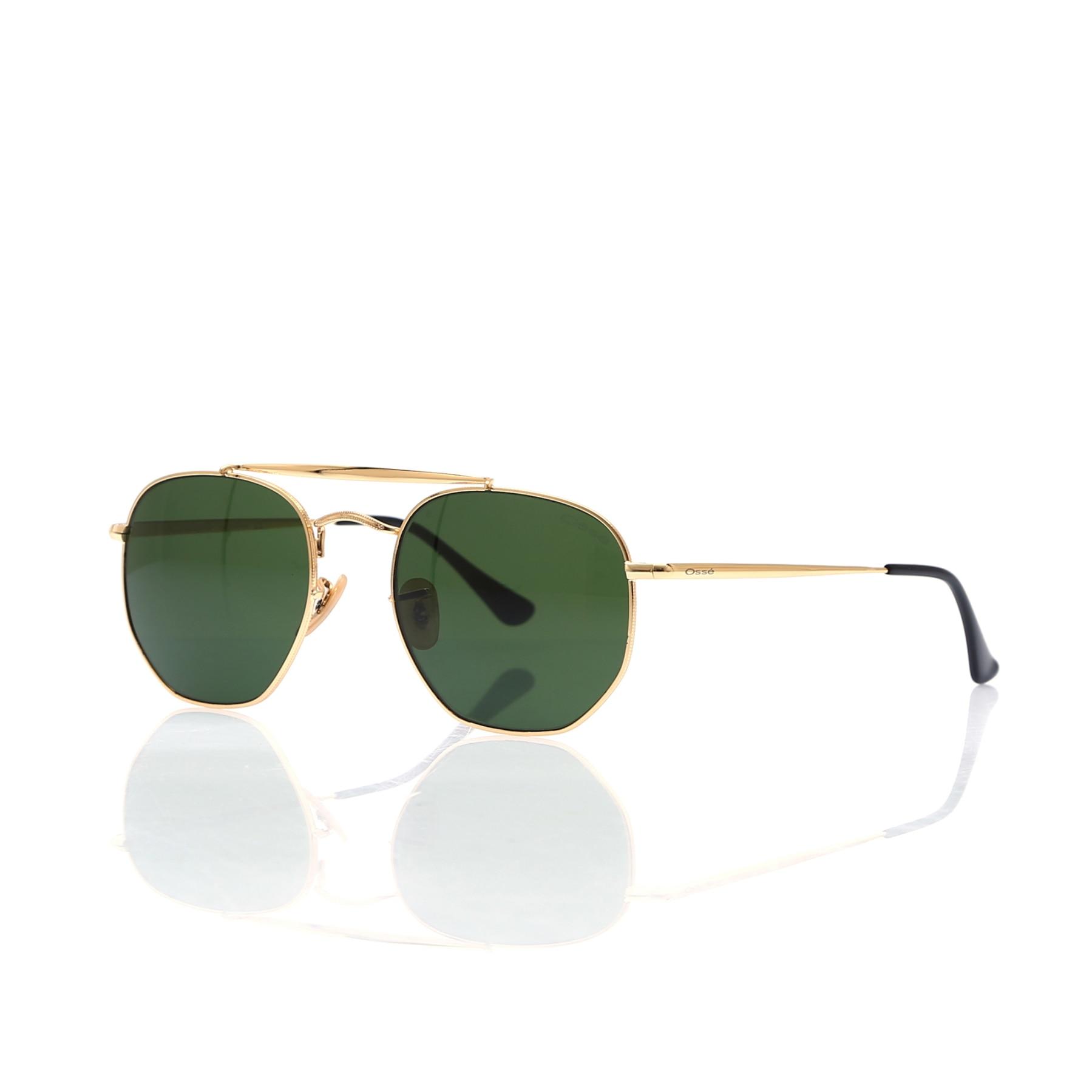 Gafas de sol para hombre os 2683 01 metal dorado cristal geométrico cuadrado 54-21-145 osse