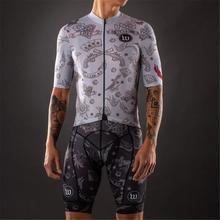 Wattie inkt bike anzug männer radfahren Jersey sommer kurzarm set fahrrad pro kleidung mtb maillot ropa ciclismo shirts shorts