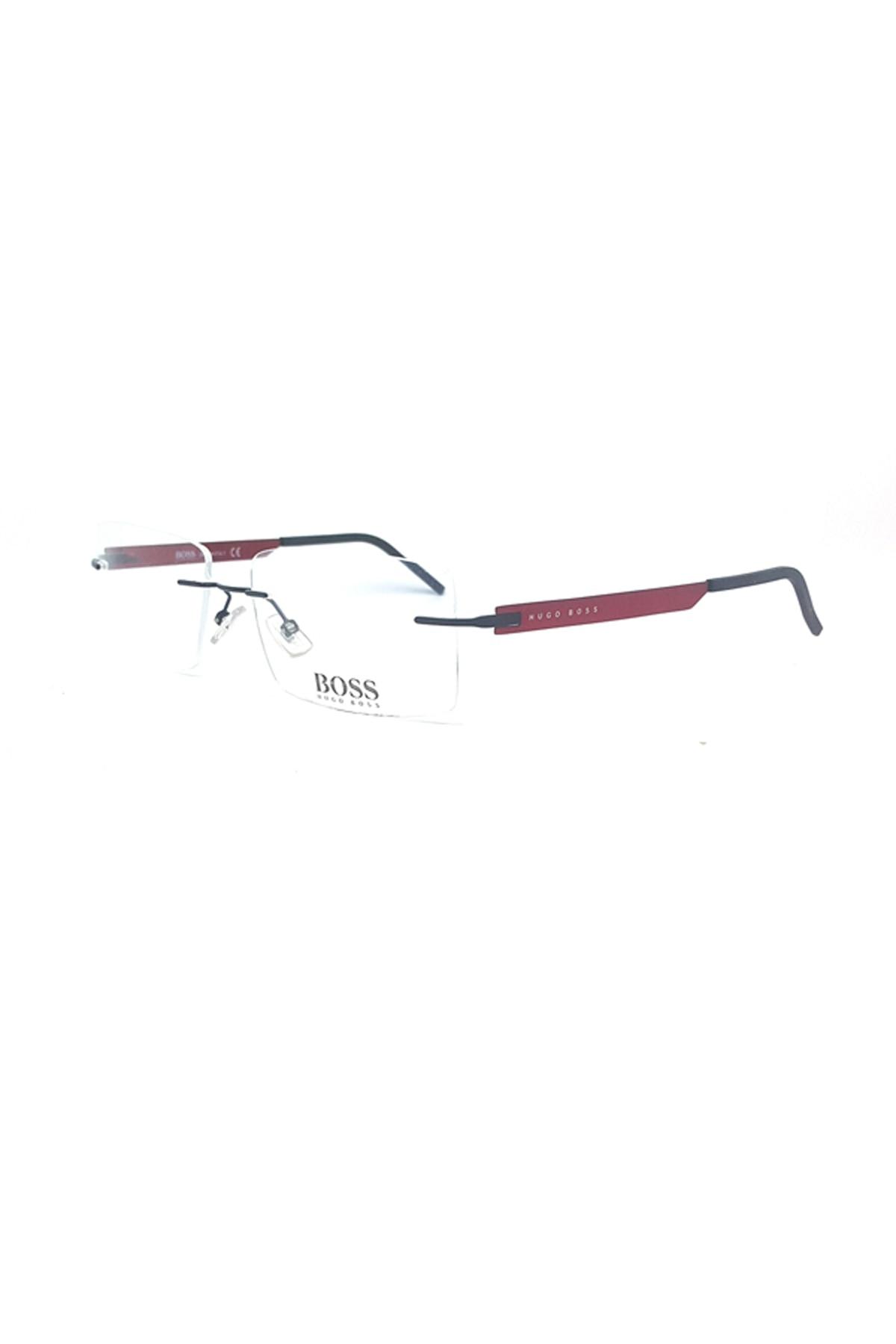 Gafas de lectura Markamilla para hombre, montura de gafas de demostración, gafas transparentes de alta calidad MenHugo Boss HB 0225 27Z 55 17