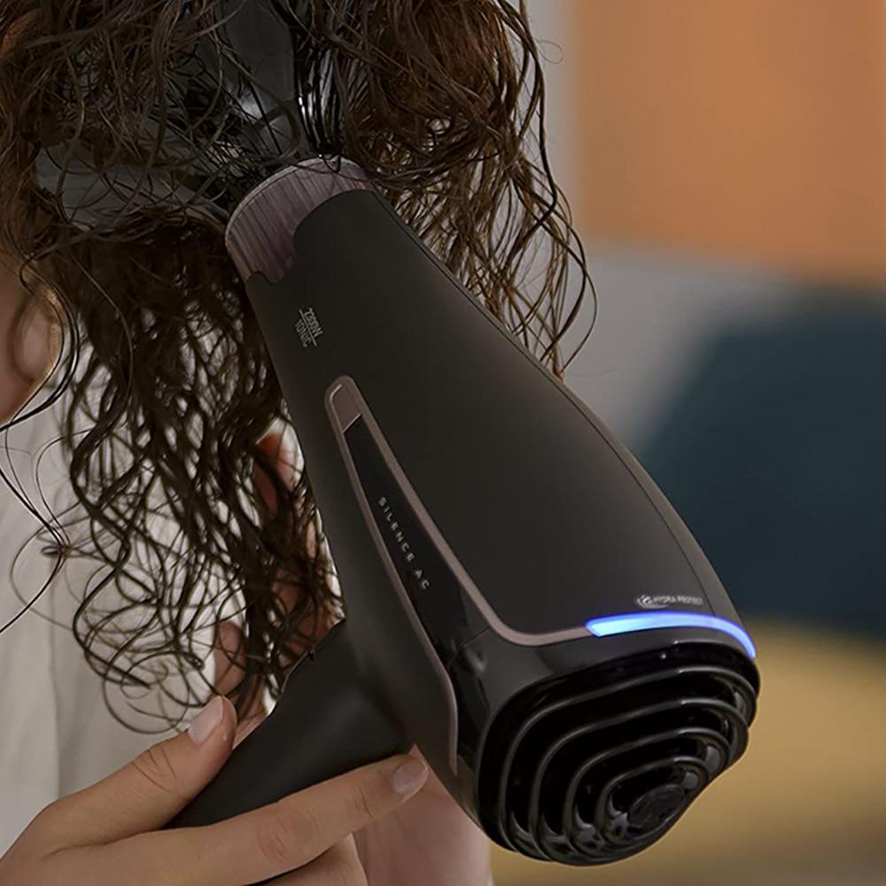 Rowenta CV7920 Silence Ultra Quiet 2300 Watt Hair Dryer,Sound Level: 75 dB (A),Turbo Boost Function. Ergonomic Design enlarge