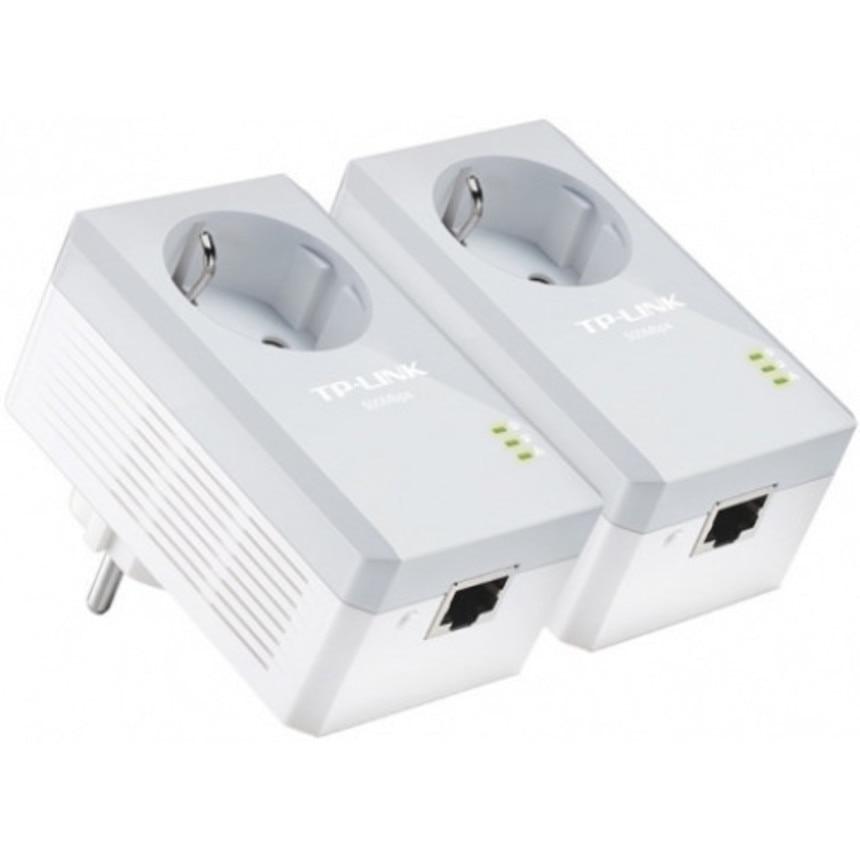 PLC адаптер TP LINK TL PA4010PKIT (В комплекте 2 адаптера) Сетевые адаптеры c передачей данных по электросети      АлиЭкспресс