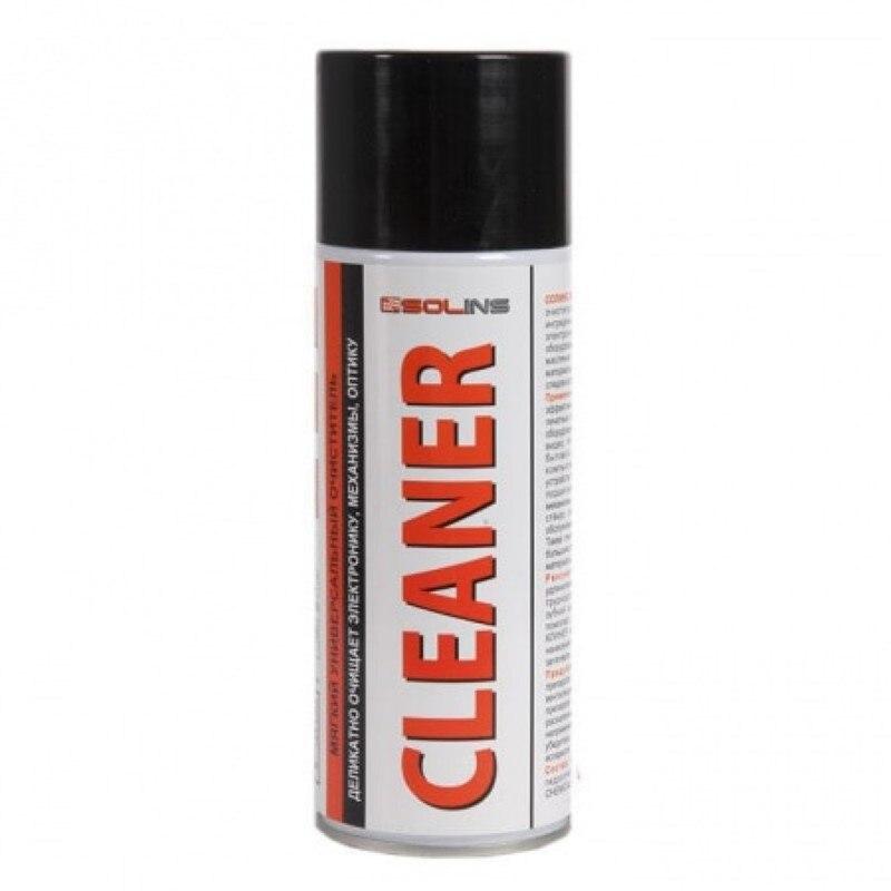 Solins CLEANER, аэрозоль -400 мл (520 мл) (спиртовой очиститель для электронного оборудования)
