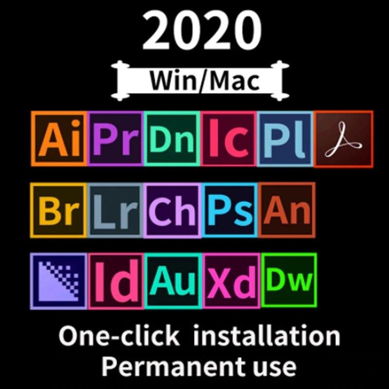 Ensemble complet de logiciels CC 2020 acheter maintenant Win