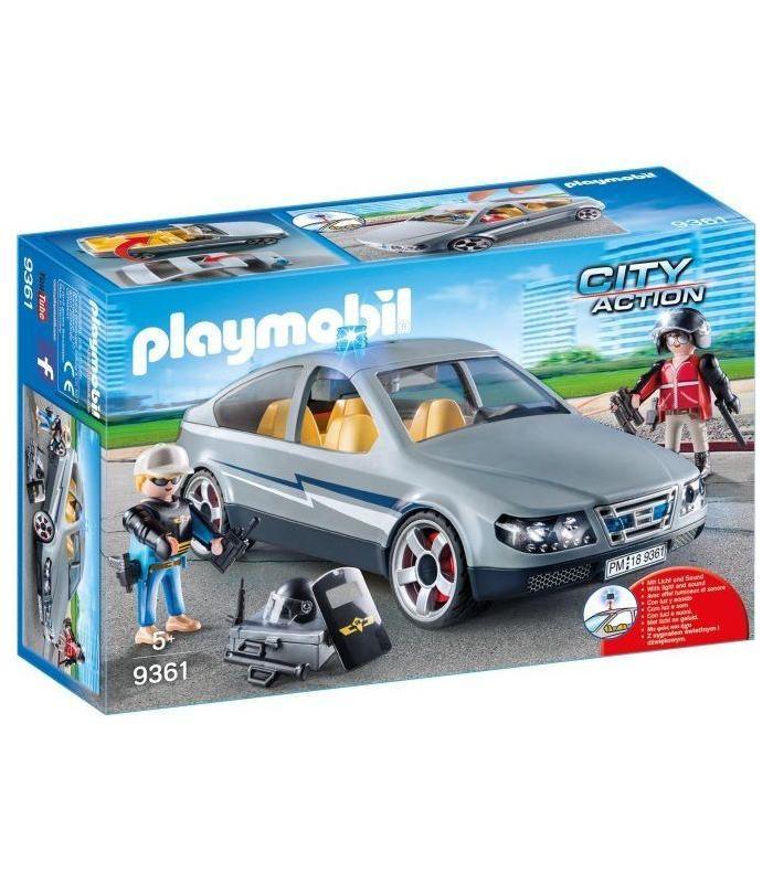 9361 Playmobil Coche Civil De Las Fuerzas Especiales Juguetería Articulos Creados Manual