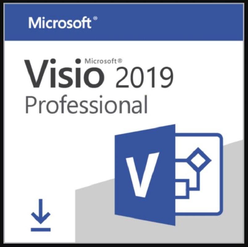 Micrsoft Visio 2020 Professional | Full Version | KEY + LINK | Retail Version