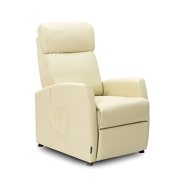 Cocotec 6181 relaxante poltrona de massagem bege compacto reclinável