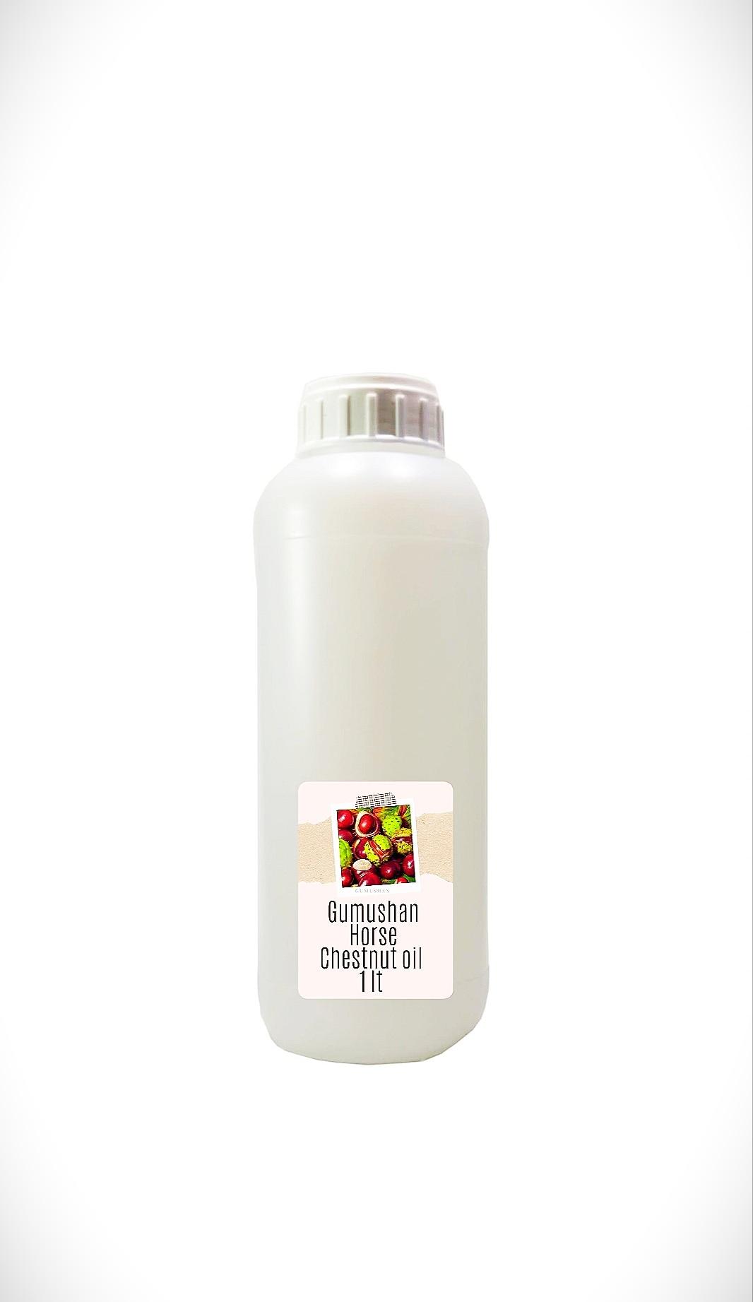 High quality pure Horse Chestnut Oil 1 liter 34 fl oz 1000ml