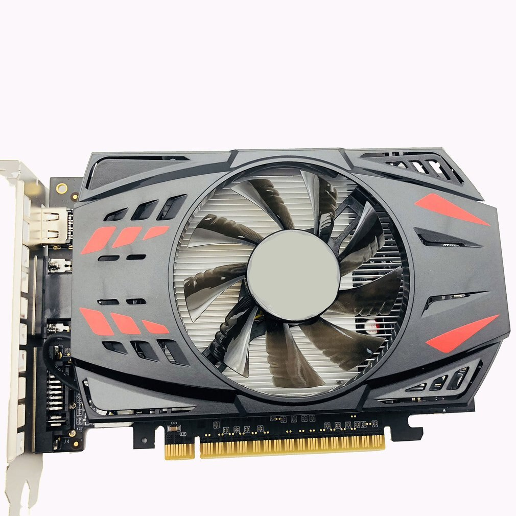 Professional GTX1050TI 4GB/2GB DDR5 Gr Hics Card 128Bit HDMI-Compatible DVI VGA GPU Game Video Card For NVIDIA PC Game Dropship аксессуар palmexx hdmi vga px hdmi vga