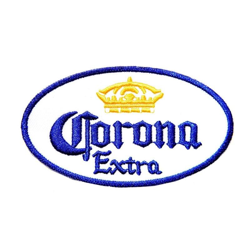 """3,75 """"CORONA EXTRA cerveza gorra Logo chaqueta parches coser planchado bordado"""