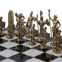 only chess pieces historical rome figures metal chess pieces medium size king 7 cm board is not included