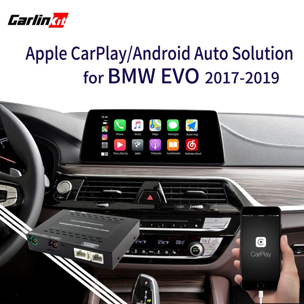 2020 Apple CarPlay Android Авто Модернизированный комплект для BMW EVO 1 2 3 4 5 7 серии X3 X4 X5 X6 MINI F20 F30 G30 F25 F15 MirrorLink