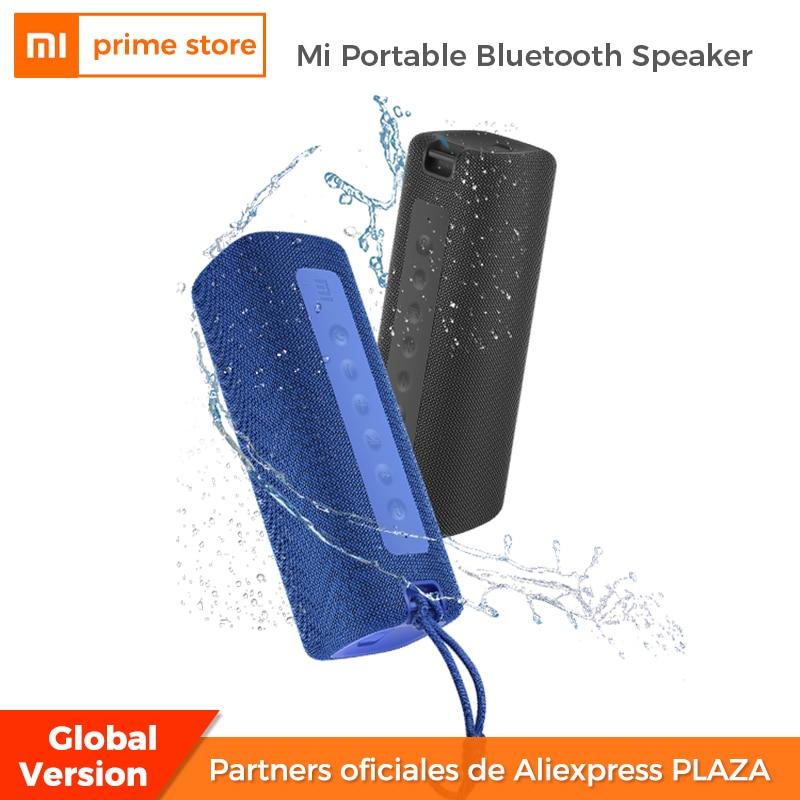 شاومي Mi المحمولة المتكلم في الهواء الطلق 16 واط TWS اتصال جودة عالية الصوت IPX7 مقاوم للماء 13 ساعة وقت اللعب المتكلم لبلوتوث