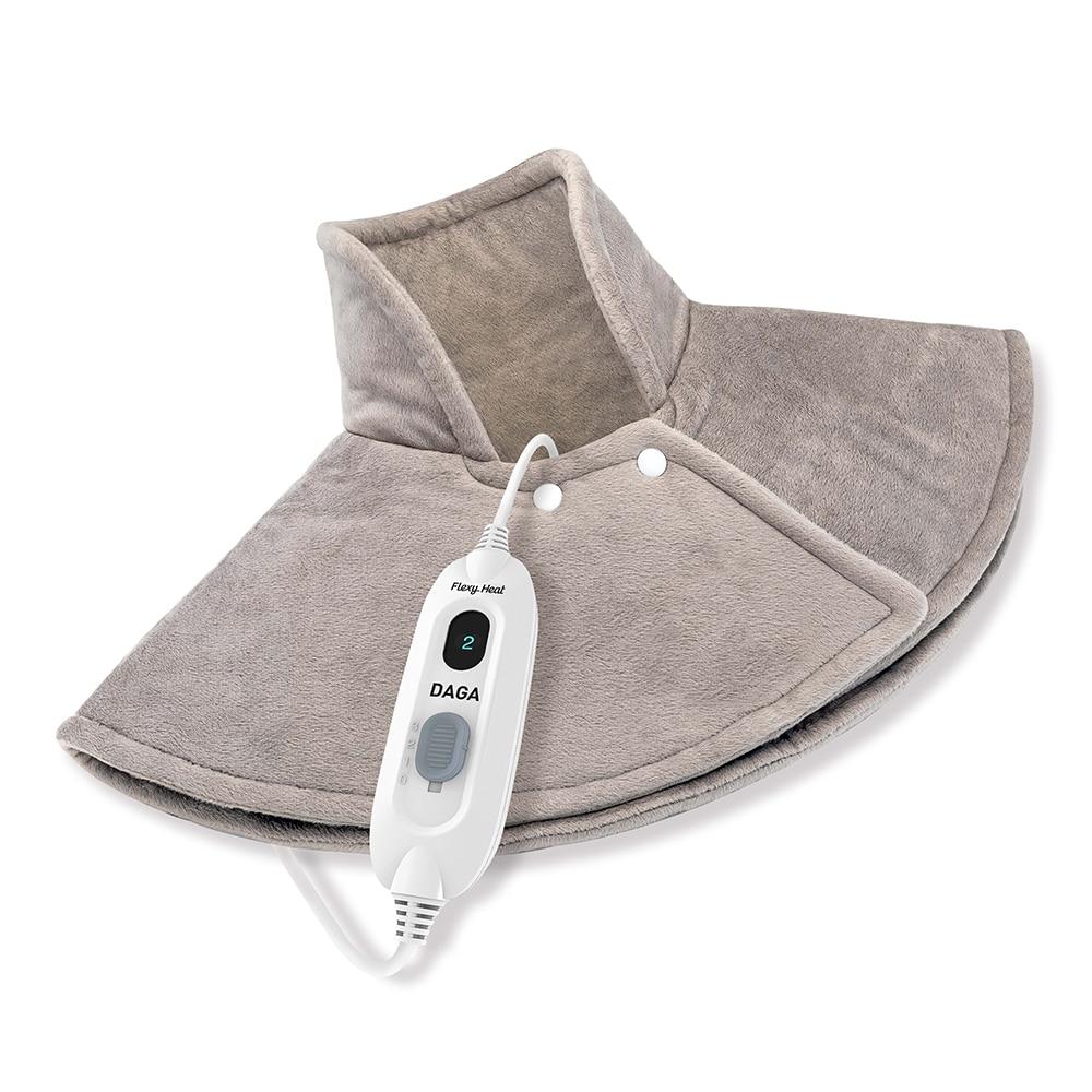 Daga Flexy-Heat NC complexe   Almohadilla ergonómica microfibra, Autostop 90min, 3 niveles de, Lavable, Calentamiento rápido