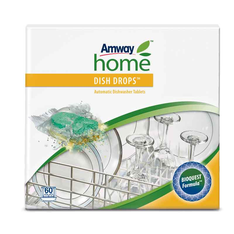 Automatic Dishwasher Tablets AMWAY HOME™ DISH DROPS™ 60 Tablets super silica plus 60 tablets