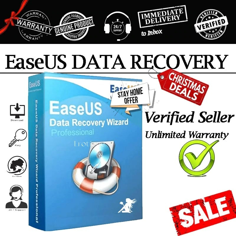 EaseUS Data Recovery Pro 13 Lifetime ✔️UNLIMITED PC✔️|100% GUARANTEE